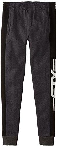 STX Big Boys' Fleece Pull On Lacrosse Pant, Charcoal, 10/12