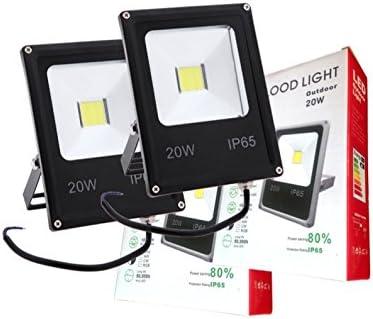 GH Pack 2 focos LED 12v / 24v 20W luz Blanca Fria: Amazon.es: Hogar