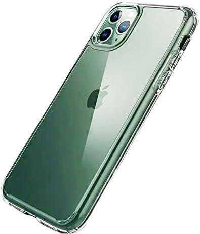 iPhone 11 Pro ケース 5.8インチ クリア全透明 薄型 耐衝撃 カメラ保護 衝撃吸収 ワイヤレス充電対応 超耐磨 軽量 黄変防止 おしゃれ 指紋防止