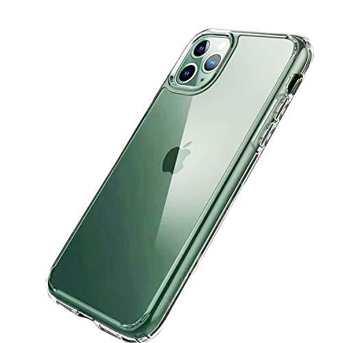 iPhone 11 ケース 6.1インチ クリア全透明 薄型 耐衝撃 カメラ保護 衝撃吸収 ワイヤレス充電対応 超耐磨 軽量 黄変防止 おしゃれ 指紋防止