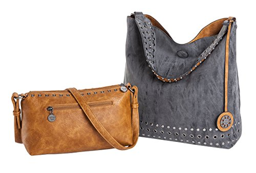 sydney-love-grommet-reversible-hobo-crossbody-bag-set-charcoal-saddle