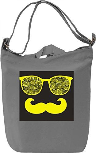 Eyeglasses Borsa Giornaliera Canvas Canvas Day Bag| 100% Premium Cotton Canvas| DTG Printing|