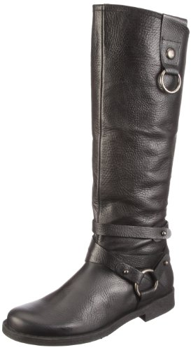 01 schwarz Donna 11 black Nero Stivali Quest 2155 qxZEwH8wa