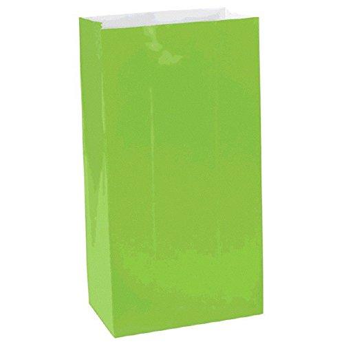 Mini Paper Bags   Kiwi   Party Accessory