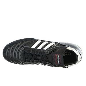 adidas Performance Mundial Team Turf Soccer Cleat,Black/White,9 M US