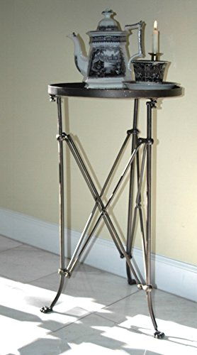 The King S Bay Old Bronze Round Claw Foot Side End Table British Restoration Hardware Campaign
