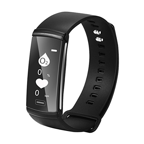 SEFREE Fitness Tracker,Waterproof Activity Tracker Pedometers Smart Wristband Heart Rate Monitors with Step Counter and Calorie Counter for Android and iOS ()
