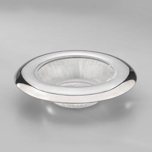 Nambe Sunburst Bowl, 10-Inch Diameter by 2-3/4-Inch Height