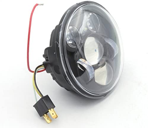 Led 5 3 4 14 6cm Drl Headlight Projector With Parking Light For Harley Davidson Motorcycle Auto