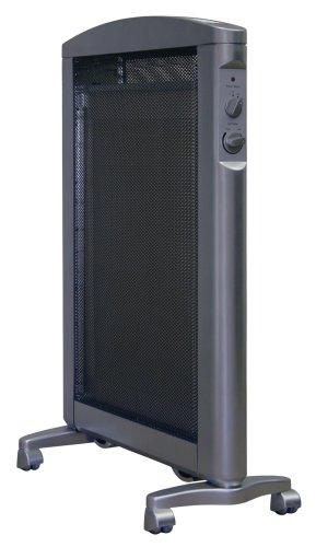 Soleus Air Hm1 10 32 Ultra Thin Micathermic Heater Black