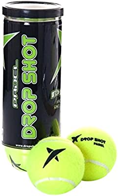 DROP SHOT Club - Pelotas en Bote, Color Amarillo, 3 Unidades ...