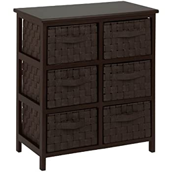 Honey Can Do TBL 03759 6 Drawer Storage Chest With Woven