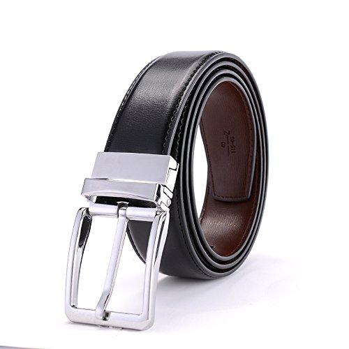 Cinturón para hombres Hebilla de cinturón giratoria para ...