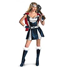 Happy&co Women's Cosplay Thor Girl Cosplay Superhero Party Dress