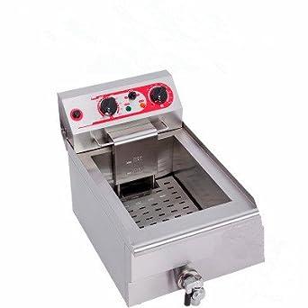 MXBAOHENG - Freidora eléctrica comercial para fritters fritos fritos fritos fritos de pollo 220 V EF-131: Amazon.es: Industria, empresas y ciencia