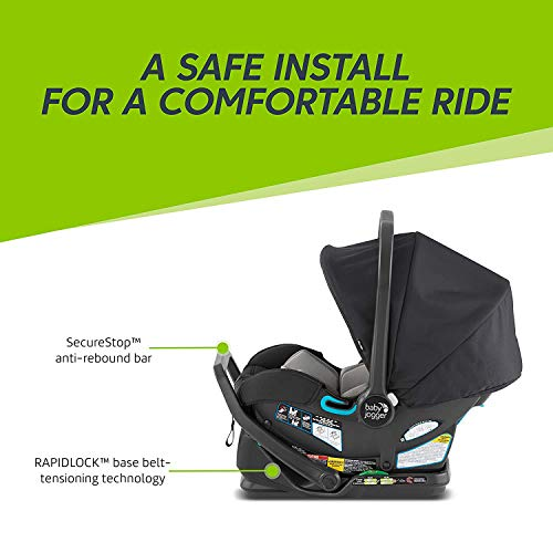 41JVN7oTwdL - Baby Jogger City Mini 2 Travel System, Jet