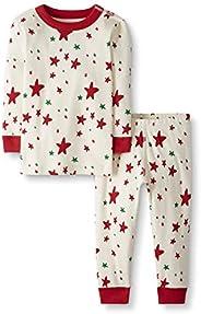 Moon and Back by Hanna Andersson unisex-child 2 Piece Long Sleeve Pajama Set Pajama Set