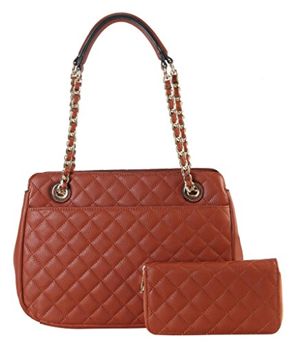 Quilted Two Pocket Tote - 5