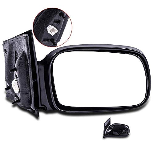 SCITOO Passenger Right Door Mirror fit 2006-2011 Honda Civic Coupe Power Side Mirror Adjusted Non-Folding - Civic 2007 Honda 2 Door