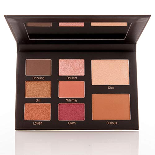 Mally Beauty Muted Muse Eyeshadow Palette, Rose Gold, 0.53 oz.