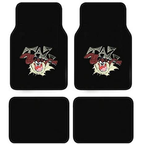 Amazon Com Looney Tunes Taz Latest Design Car Floor Mats Set
