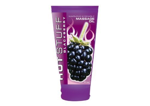 [Hott Stuff Warming Oil Blackberry 6 Oz] (Cherry Apple Costumes)