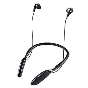 AUKEY Auriculares Inalámbricos Bluetooth con Tiempo de Reproducción de 20 horas, Auriculares Inalámbricos aislantes del ruido para iPhone, iWacth, Samsung etc