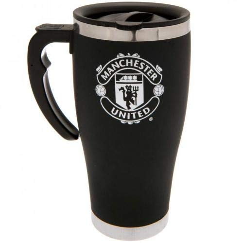 MANCHESTER UNITED ALUMINUM EXECUTIVE TRAVEL MUG (20oz) OFFICIALLY LICENSED SHIPS FROM USA