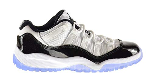 Jordan 11 Retro Low BP Little Kids Shoes White/Black-Dark Concord 505835-153 (1 M US)