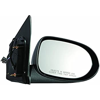 NEW Mirror 07-12 DODGE CALIBER Driver Left Side MANUAL NON-HEATED