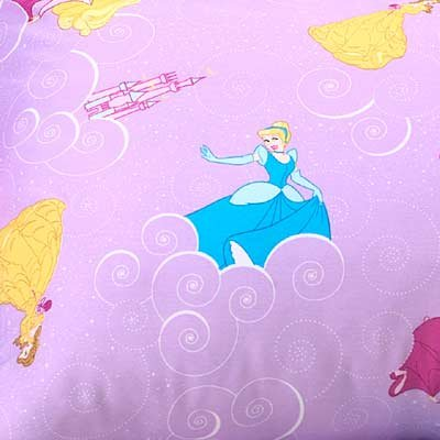 Disney Princess Castle Pillow Sham Std Belle Aurora Cinderella by Disney