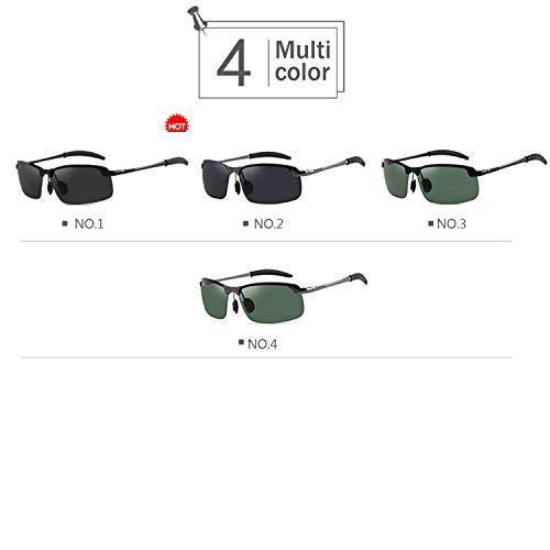 Sol para Gafas Hombre Sol para Easy Go 1 Color de Shopping Gafas de polarizadas Hombres NO para 3 NO el Coche wFE6vq