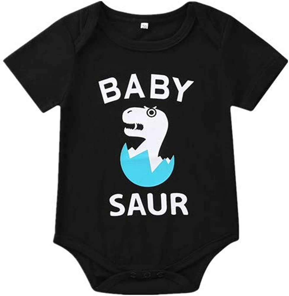 Aiserkly Mother and Me Baby Funny New Premature Bodysuit Letter Printed Romper Matching Family Clothes Set Gifts Comfortable Black