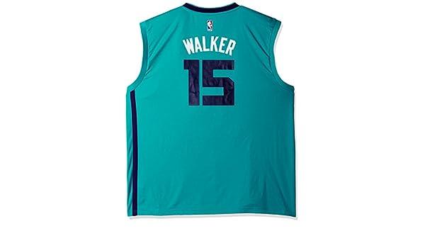 Adidas NBA Charlotte Hornets Kemba Walker # 15 Hombres Camiseta de Jersey, Hombre, Alternate Flex, Alternate Road: Amazon.es: Deportes y aire libre