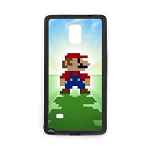 SamSung Galaxy Note4 cell phone cases Black Super Mario Bros fashion phone cases UIWE597938