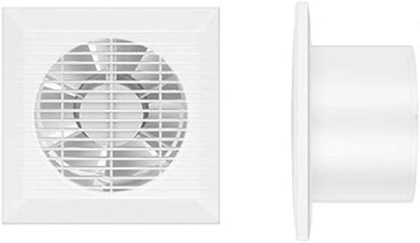 Ventiladores de baño, aspirador de pared ventilador universal para baño, dormitorio, oficina Φ98-148 mm con válvula de retención: Amazon.es: Bricolaje y herramientas
