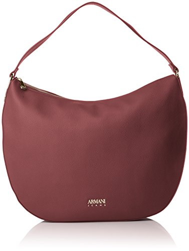 burgundy Bolsos Borsa Rojo Y Mujer Hombro Shoppers De Armani Hobo I6PFnzz