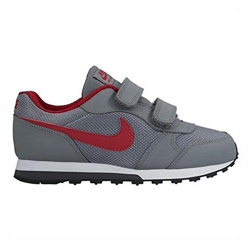 Nike 807317-005, Zapatillas para Niños Gris (Cool Grey / Gym Red / Anthracite / Black)