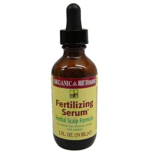 Organic Root Stimulator Sérum fertilisation, du cuir chevelu Formule à base de plantes, 2 oz.