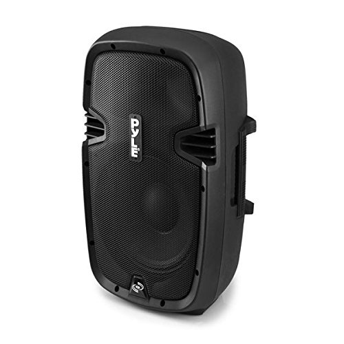 Pcs 8 Powered Speaker 8 - Pyle Powered Loudspeaker [Active PA Speaker System] Digital Sound Amplifier | 2-Way Stereo Sound & Power Bass | 8-Inch Subwoofer | 600 Watt (PPHP803MU)