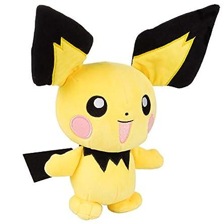 Pokémon Pichu Plush Stuffed Animal Toy – 8″...