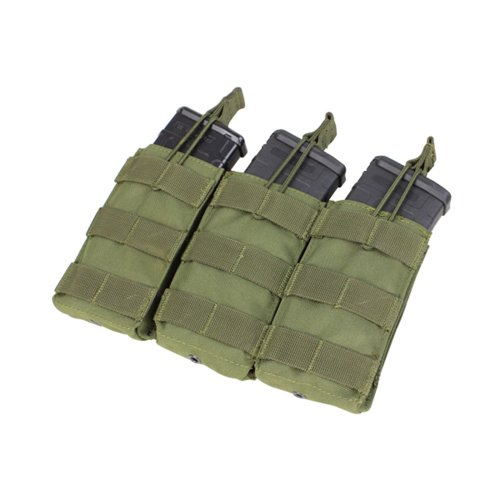 [Condor MA27 Triple Open Top Mag Pouch] (Mag Green)