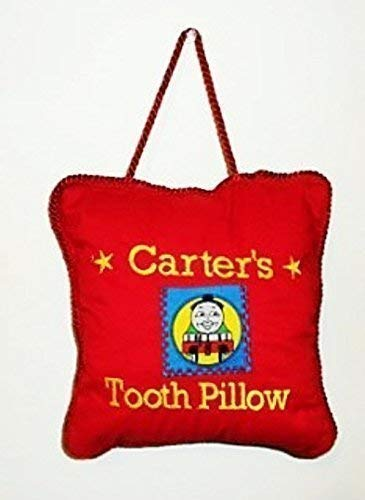 Thomas the Train Embroidered Tooth Pillow