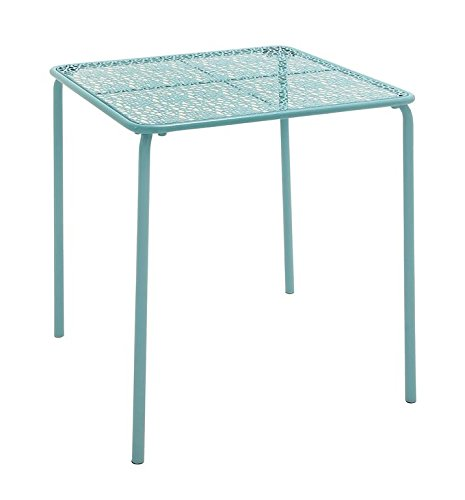 "Deco 79 65448 Metal Outdoor Table, 28"" x 30"" - Suitable to use as a decorative item Unique home decor This product is manufactured in China - patio-tables, patio-furniture, patio - 41JVVtvrb8L -"