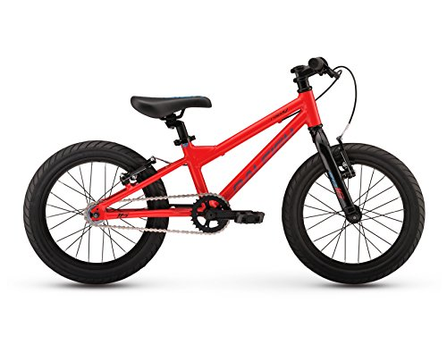 Raleigh Bikes Kids Rowdy 16 Mountain Bike, One Size, Red