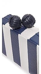 Sam Edelman Women\'s Bailey Striped Clutch, Nautical Blue, One Size