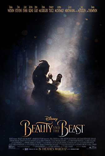 Beast Movie Poster - Beauty and the Beast Movie Poster Limited Print Photo Emma Watson Size 27x40 #2