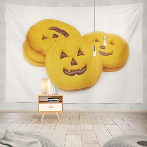 KJONG Halloween Pumpkin Cookies White Halloween White Autumn