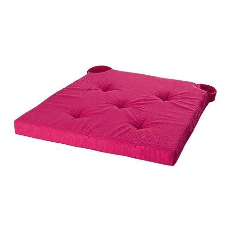 IKEA JUSTINA - cojín de Silla, cerise - 35 / 42x40x4.0 cm ...