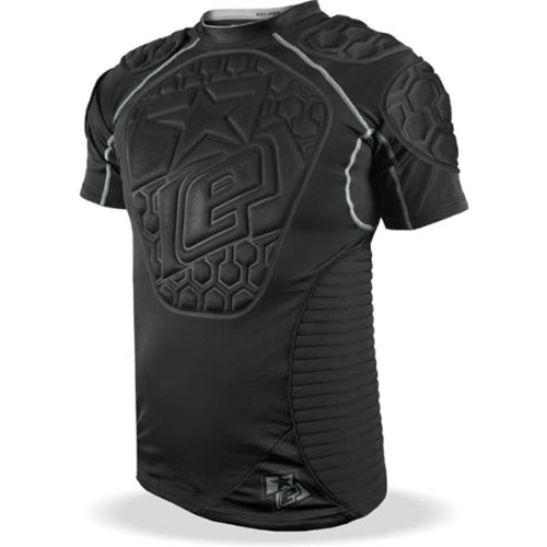(Planet Eclipse Paintball Overload Protective Jersey (Black, XX-Large))
